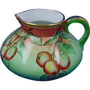 Bavaria Arts & Crafts Apple Motif Pitcher (c.1910-1930)