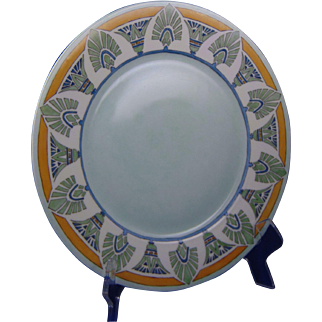 """Hutschenreuther Selb Bavaria Egyptian Motif Charger/Plate (Signed """"Buchanan""""/c.1910-1930)"""