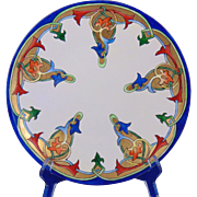 Jean Pouyat (JP) Limoges Arts & Crafts Plate (c.1890-1932)