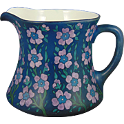 William Guerin & Co. (WG&Co.) Limoges Arts & Crafts Enameled Floral Cider/Lemonade Pitcher (Signed/Dated 1910)