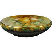 "Rosenthal Donatello Bavaria Arts & Crafts Fruit Motif Centerpiece Bowl (Signed ""Stiles""/c.1907-1940)"