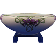 Royal Bavaria Arts & Crafts Violet Motif Bowl (c.1910-1930)