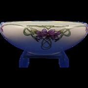 Royal Bavaria Arts & Crafts Violet Motif Bowl (c.1910-1930)