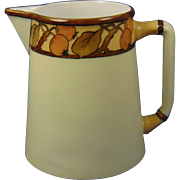 "Charles Martin Limoges Arts & Crafts Apple Design Pitcher (Signed ""S.D. Rogers""/Dated 1909) - Keramic Studio Design"