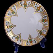 Tressemann & Vogt (T&V) Limoges Arts & Crafts Citrus Design Charger/Plate (1912-1930) - Keramic Studio Design
