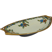 Hutschenreuther Selb Favorite Bavaria Arts & Crafts Floral Motif Serving Dish/Tray (c.1920-1940)