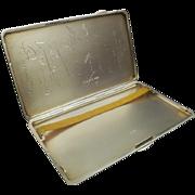 Silver Cigarette Case, Birmingham 1934, Joseph Gloster Ltd