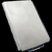 Silver Cigarette Case, Birmingham 1952, A Wilcox