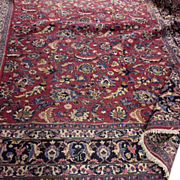 "Memorial Day SALE! Fabulous Antique Persian Hand Made Tabriz 12'5"" x9'3"" Rug Floral Motif Circa 1910!"