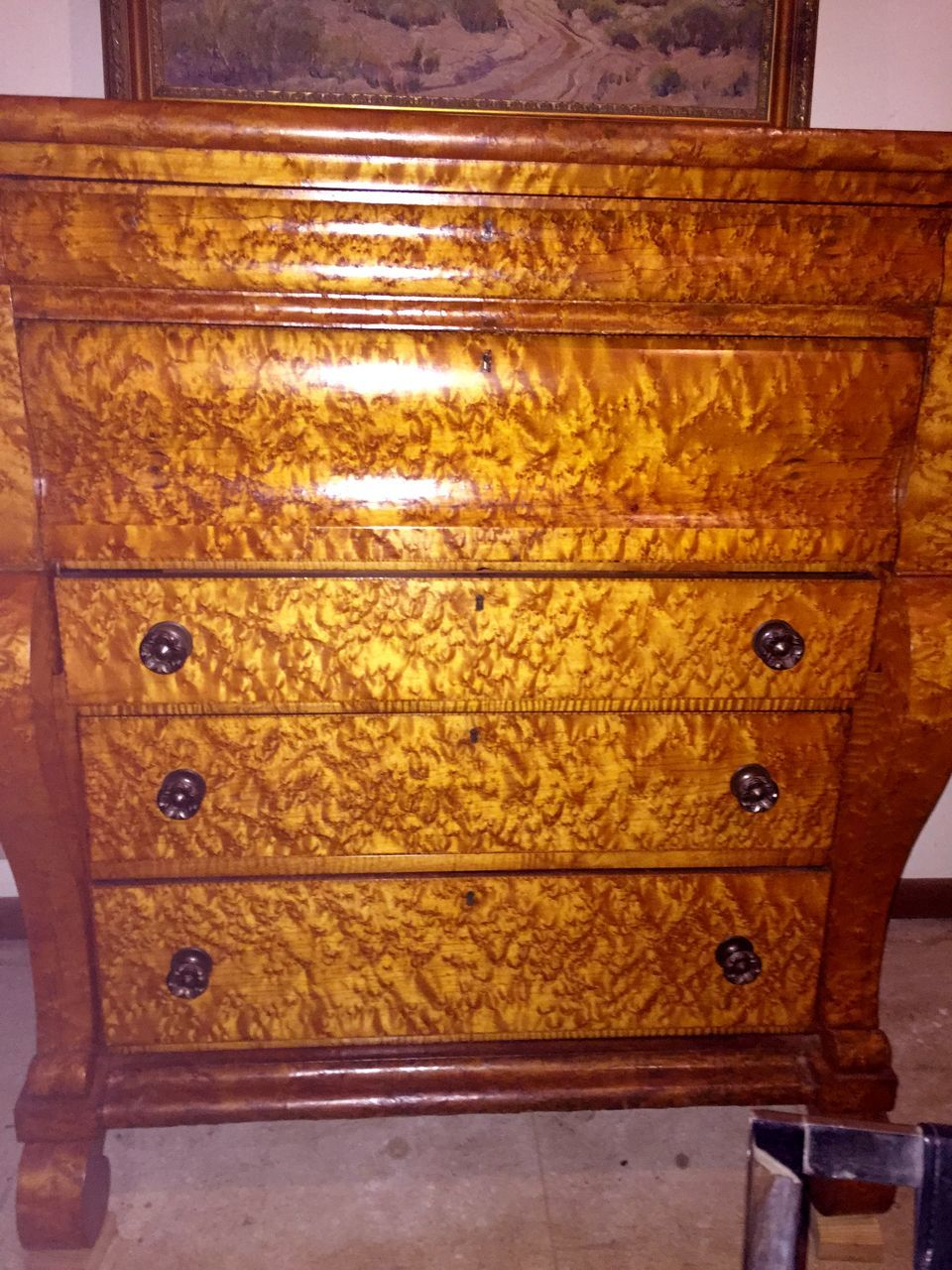 Antique Birdseye Maple Furniture Antique Furniture