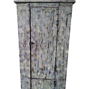 Primitive Southern Pine Cabinet.