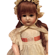 """28"""" Kammer & Reinhardt Open Mouth Child Doll--Gorgeous Bisque Huge Br Sl Eyes, Orig Body, Great Antique Clothes!"""