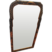 Beautiful LA BARGE Handcrafted Mirror Made in Italy The BEST Chinoiserie Black & Gold