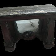 Issac Vose Neo Classic Pier Table All Orig. Circa 1815 Boston RARE