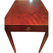 Beautiful English George III Antique Mahogany Pembroke Table Circa 1790