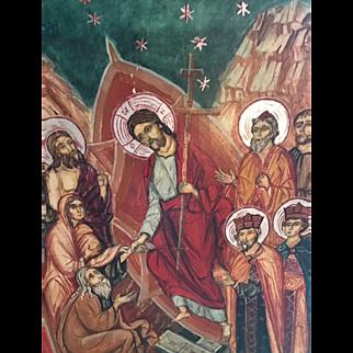 Russian Religious Icon Circa 1900 GC & Beautiful