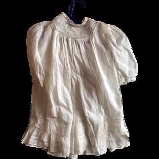 "Antique Baby Dress w. Full Slip Circa 1900 20.5"" Long Adorable!"