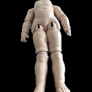 "Large Antique German Doll Body 23"" GC"
