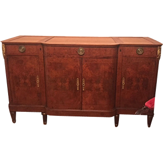 Gorgeous Louis Philippe Antique Style Sideboard Circa 1870
