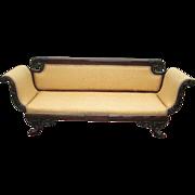 Antique American Federal Classical Sofa Duncan Phyfe School New York ORIG 1810