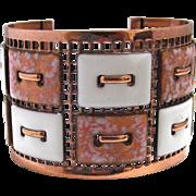 Matisse Renior Cuff Bracelet Enamel and Copper