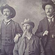 1880's Texas Ranger Lawmen Boudoir Photograph