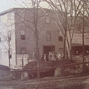 1880's Cabinet Photo Clarence Stickney's Mill Middlesex,Ma.