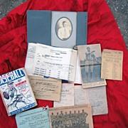 Early Baseball Archive Pitcher Robert Hathaway MiamI,Florida