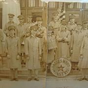 1924 Jacksonville,Florida Lasses White All-Star Minstrels Yard Long Photo
