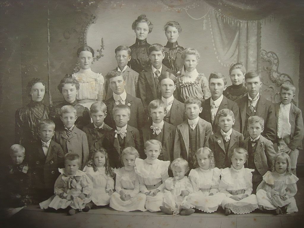 1890's Austin,Minnesota Class Photograph