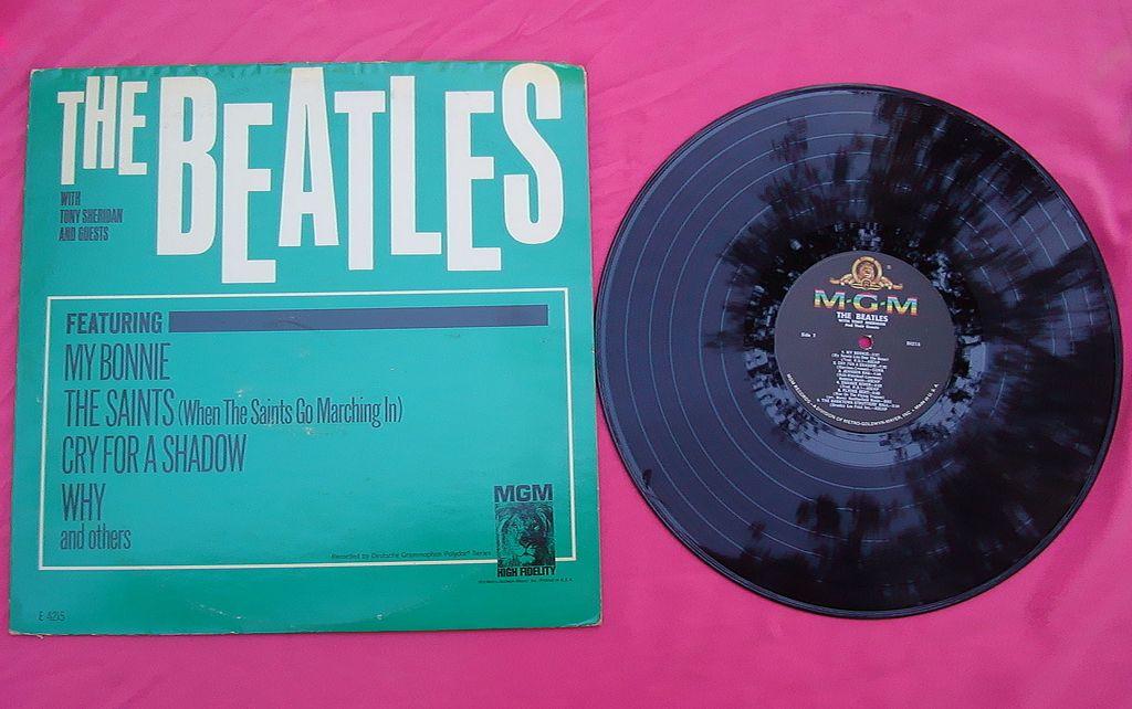 Scarce 1964 The Beatles Way with Tony Sheridan Mono Record