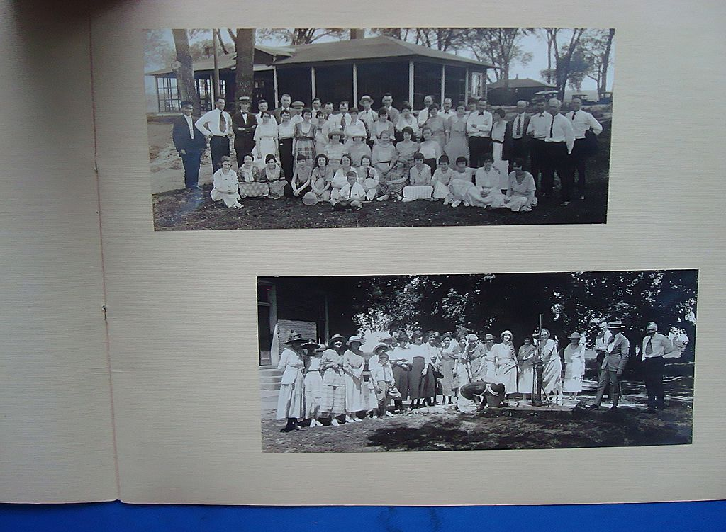1920 Omaha,Nebraska  Fremont Country Club Golf  Photo Album