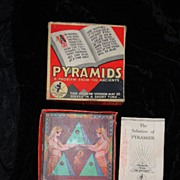 1930 Board Game A PROBLEM From The ANCIENTS by Knapp Electric
