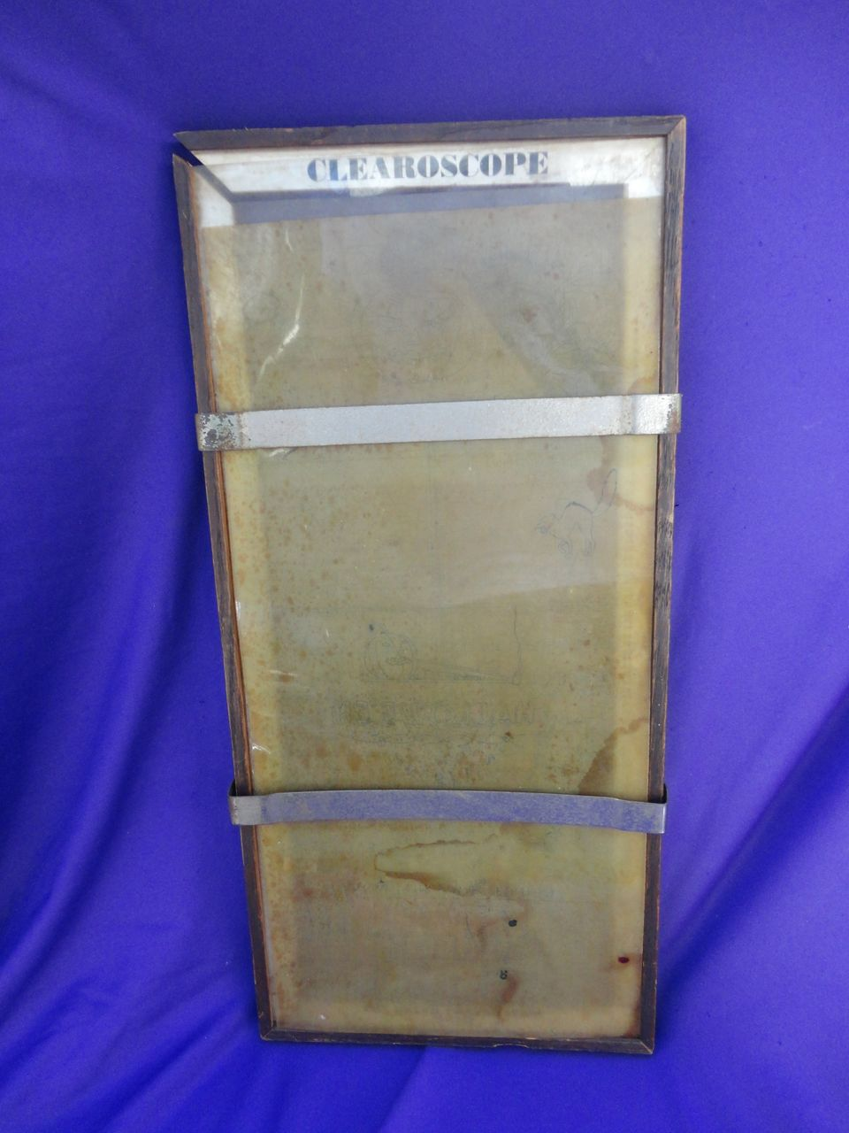Early Clearoscope Drafting Device with Halloween Postcard Illustrations