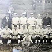 Early Richwood,West Virgina Baseball Team Photograph