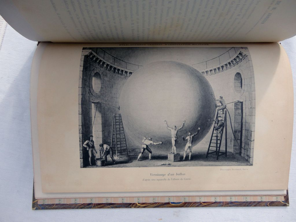 Museum retrospective in Class 34, ballooning Expo International 1900 in Paris. Report of the Committee of installation.Musée rétrospectif de la classe 34: aérostation