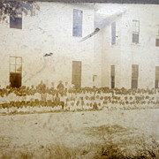 Daytona Beach,Florida Albumen Photo of African-American School Prof. Howard