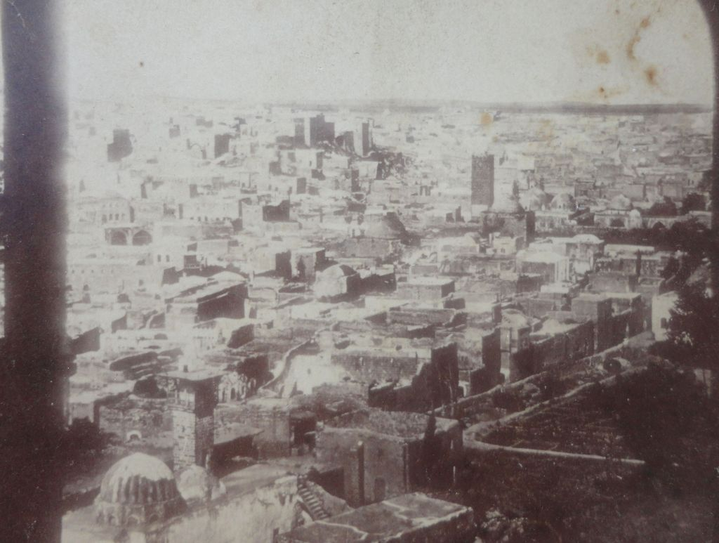 Rare Home Made Stereoview of the Great Chicago Fire of 1871