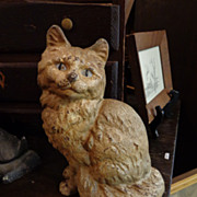 Hudley Kitty Cat Door Castiron Door Stop