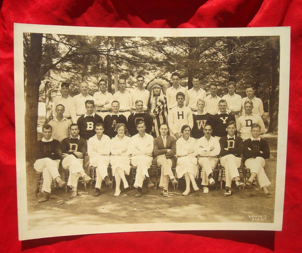 1920's Portland Maine Lunatic Asylum Photo