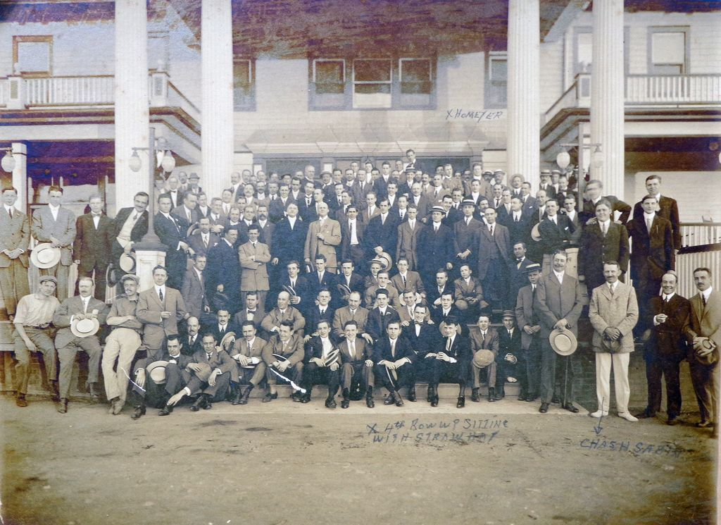 J.P.Morgan & Company Company Photo from 1904