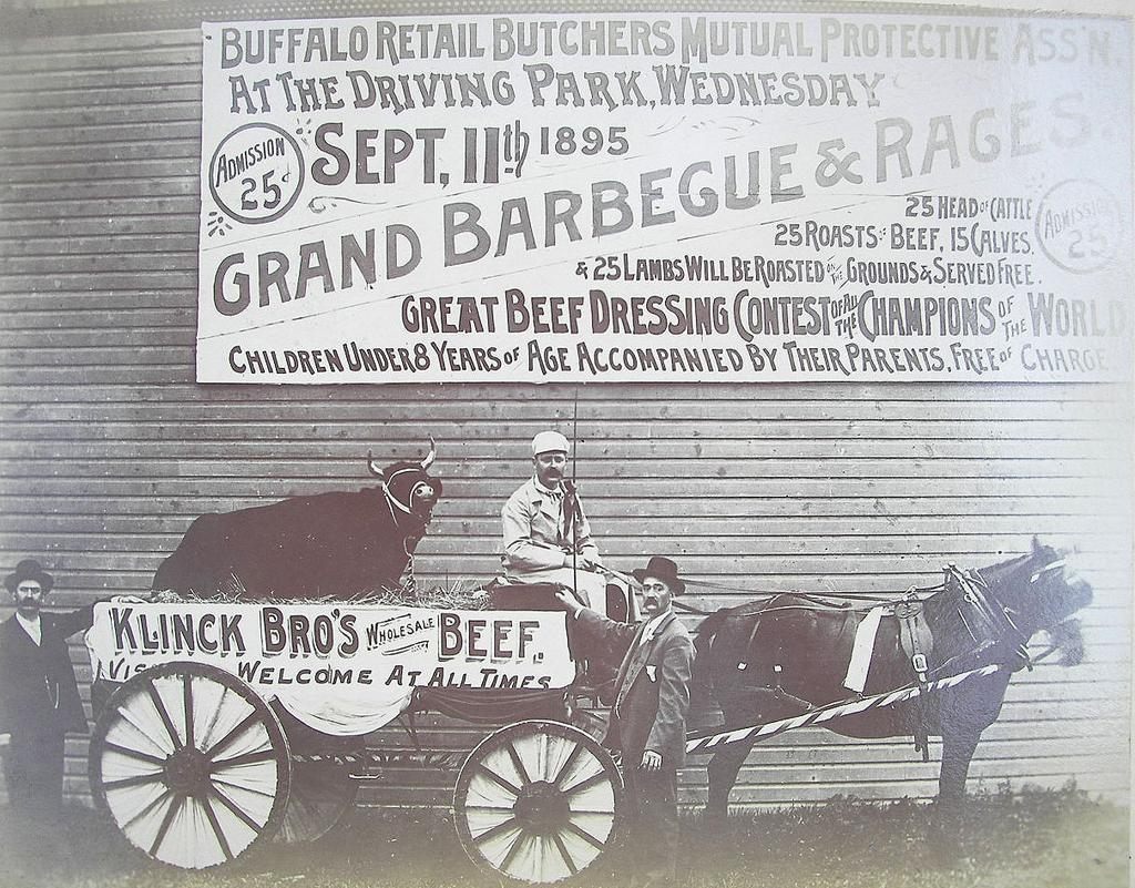 Where's The Beef? 1895 Buffalo Butchers Barbecue & Races
