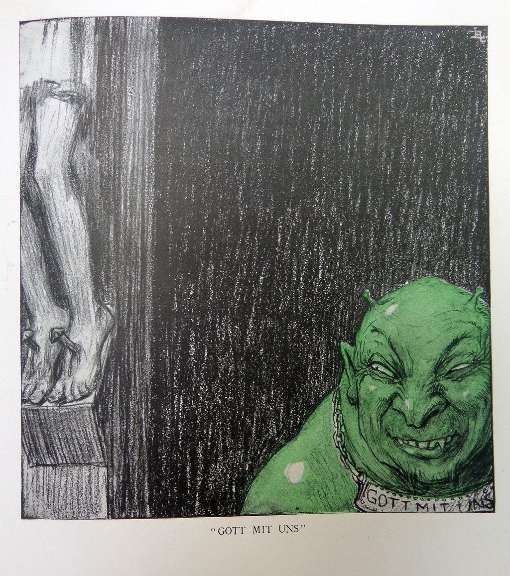 World War 1 Book Raemaekers Cartoons 1916 Louis Raemaekers