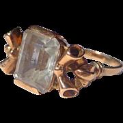 Estate Ladies Sapphire Ring in 14 ct. Gold c.1930's