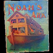 Noah's Ark Linen Book by Sam Gabriel & Sons 1913
