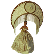 1956 Teenage Girl's Homecoming Queen Lamp