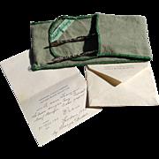 ULTRA RARE 1775 Georgian Sterling Silver Sugar Tongs George Bindon Silversmith London w/Paperwork