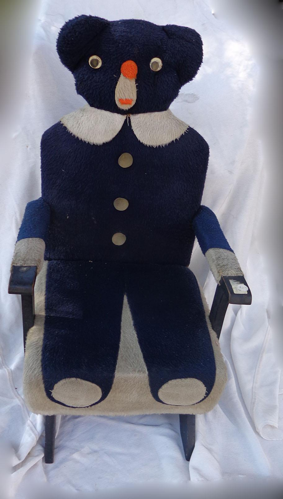 Teddy Bear Rocking Chair Martin Luther King And Woolworth