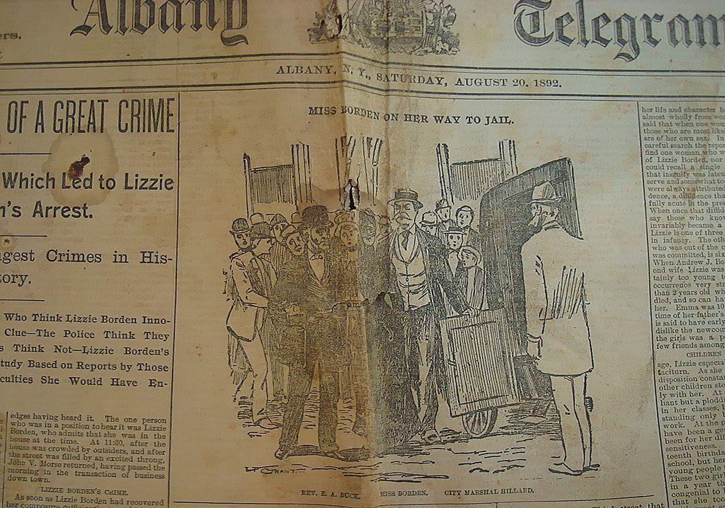 thesis statement on lizzie borden axe murder trials