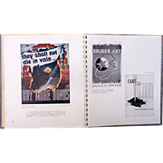 RARE Bound Folio World War 2 ART and the SOLDIER Keesler Field, Mississippi Flying Tigers